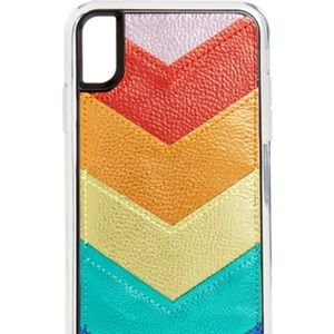 Zero Gravity Card Pocket Rainbow iPhone XR Case